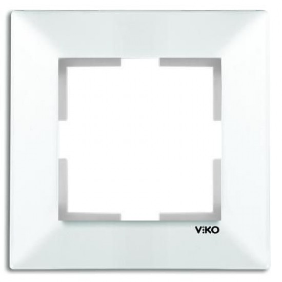 Viko Meridian Beyaz Tekli Çerçeve